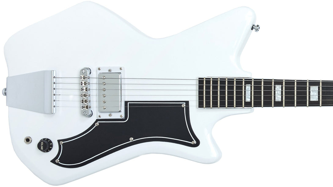 Eastwood Guitars Airline Jetsons Jr White Closeup
