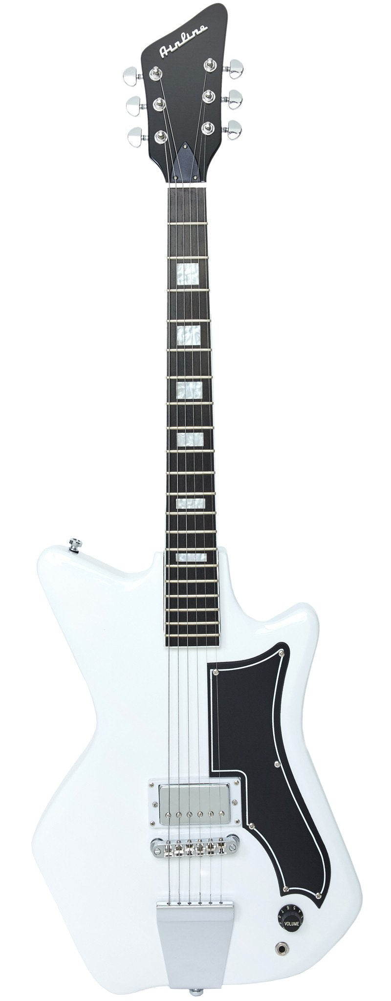 Eastwood Guitars Airline Jetsons Jr White Full Front