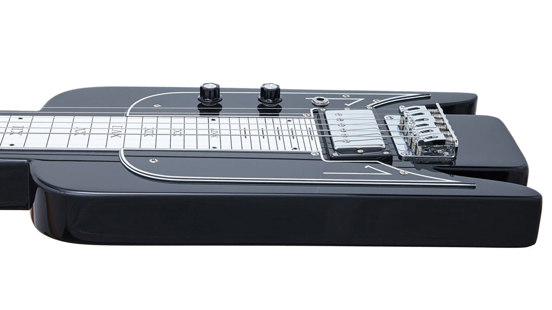 Eastwood Guitars Airline Lap Steel Black Player POV