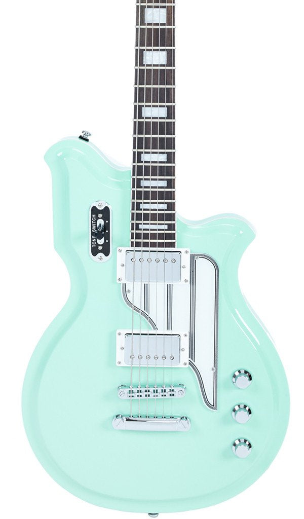 Eastwood Guitars Airline Map STD Seafoam Green Featured