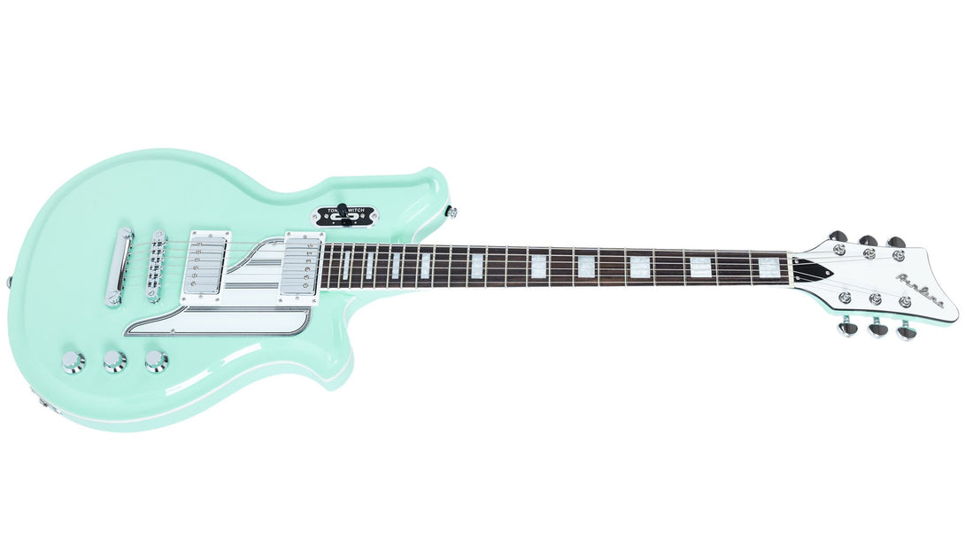 Eastwood Guitars Airline Map STD Seafoam Green Angled