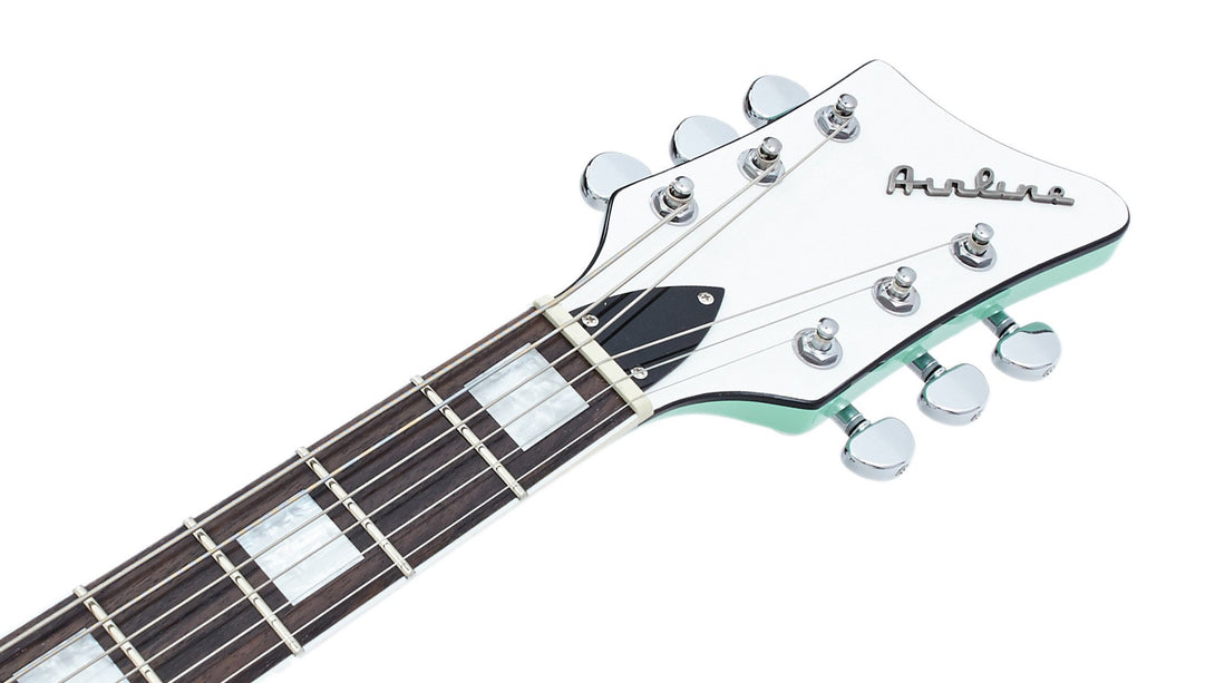 Eastwood Guitars Airline Map STD Seafoam Green Headstock
