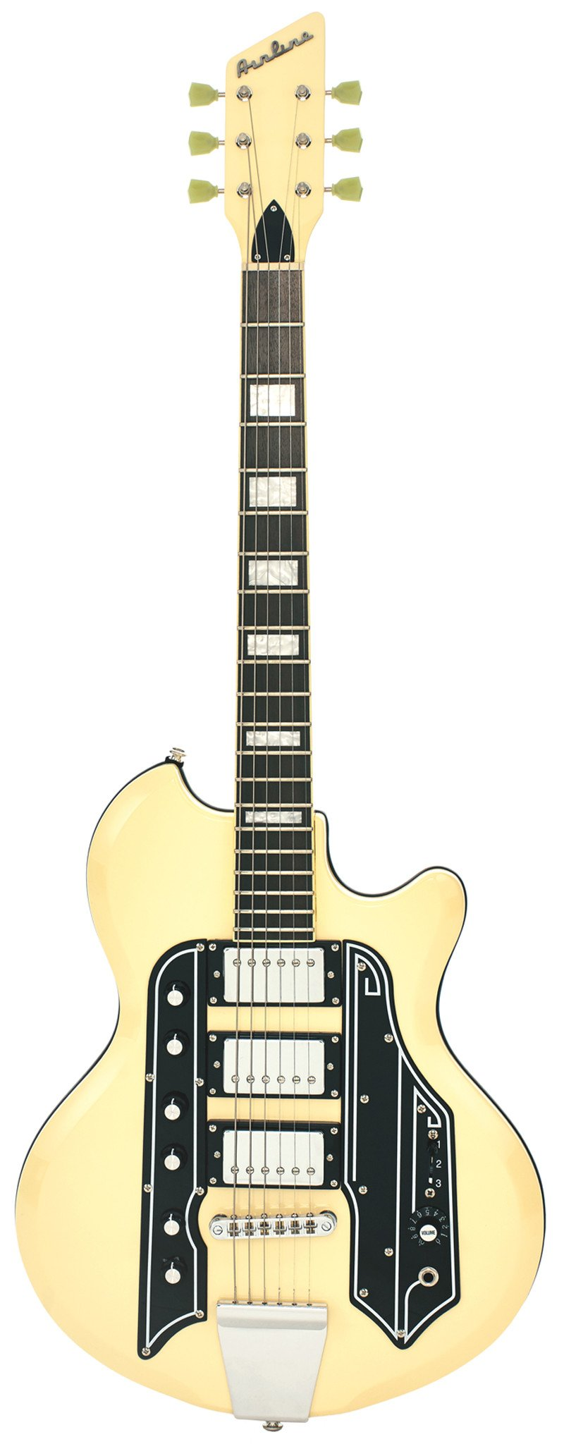 Eastwood Guitars Airline 59 Town & Country STD Vintage Cream Full Front