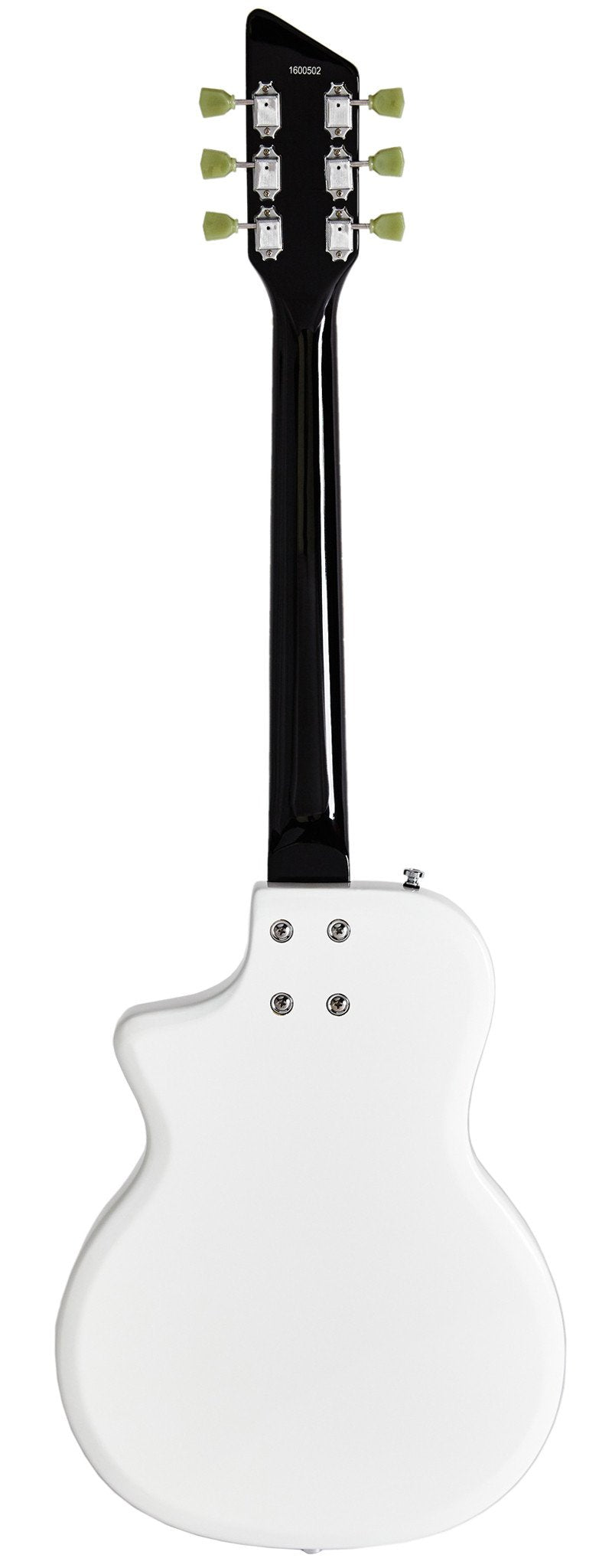 Eastwood Guitars Airline Twin Tone White Full Back