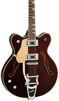 Eastwood Guitars Classic 6 Deluxe Walnut LH Featured
