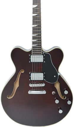 Eastwood Guitars Classic 6 HB-ST Walnut Featured
