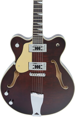 Eastwood Guitars Classic 6 Walnut LH Featured