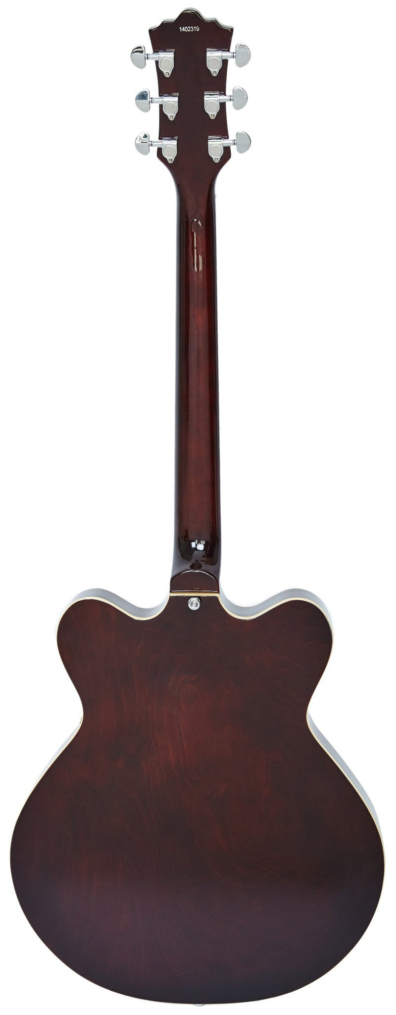 Eastwood Guitars Classic 6 Walnut LH Full Back
