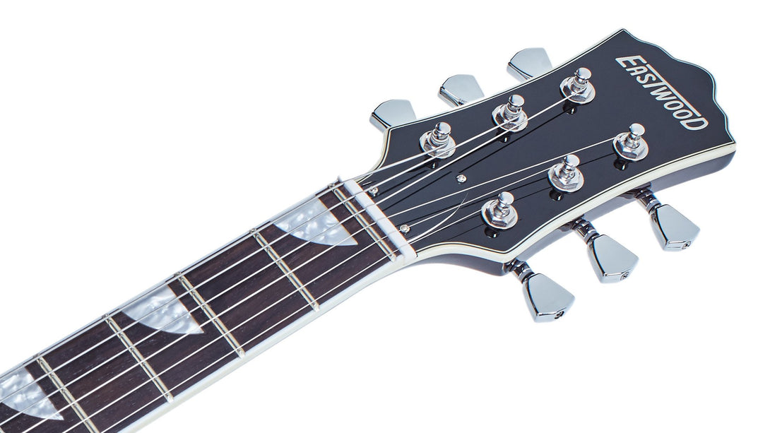Eastwood Guitars Classic AC Natural Headstock