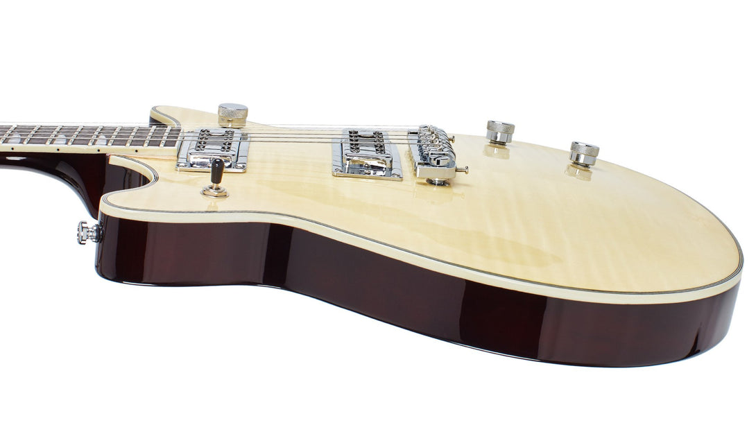 Eastwood Guitars Classic AC Natural Player POV