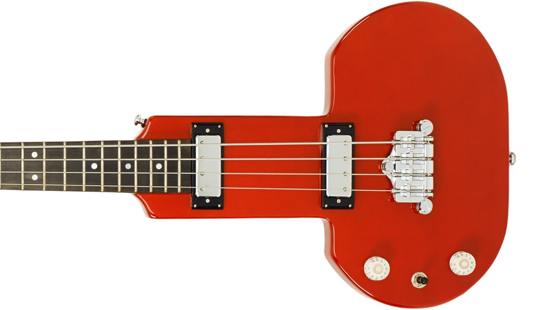 Eastwood Guitars DEVO Be Stiff Orange LH Closeup