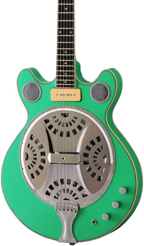 Eastwood Guitars Delta 6 Seafoam Green Featured