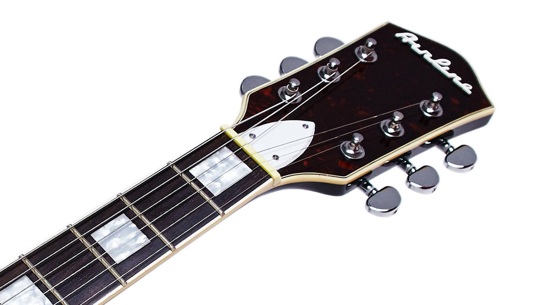 Eastwood Guitars Airline H77 Black Headstock