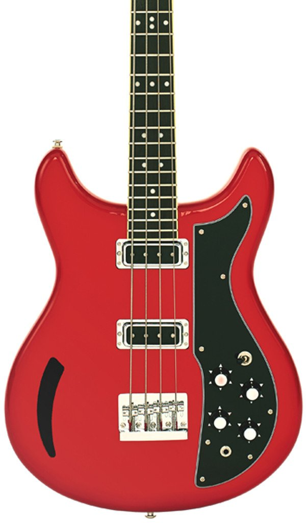 Eastwood Guitars K200 Bass Red Featured