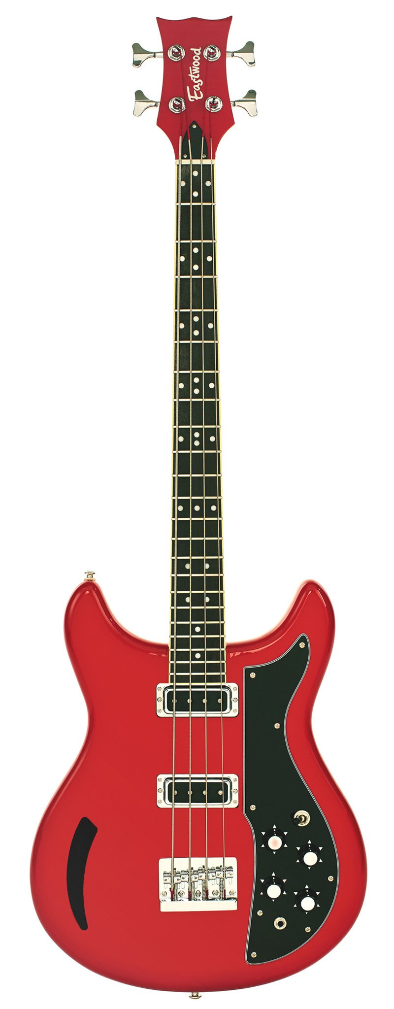 Eastwood Guitars K200 Bass Red Full Front