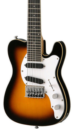 Eastwood Guitars Mandocaster 12 Sunburst Featured