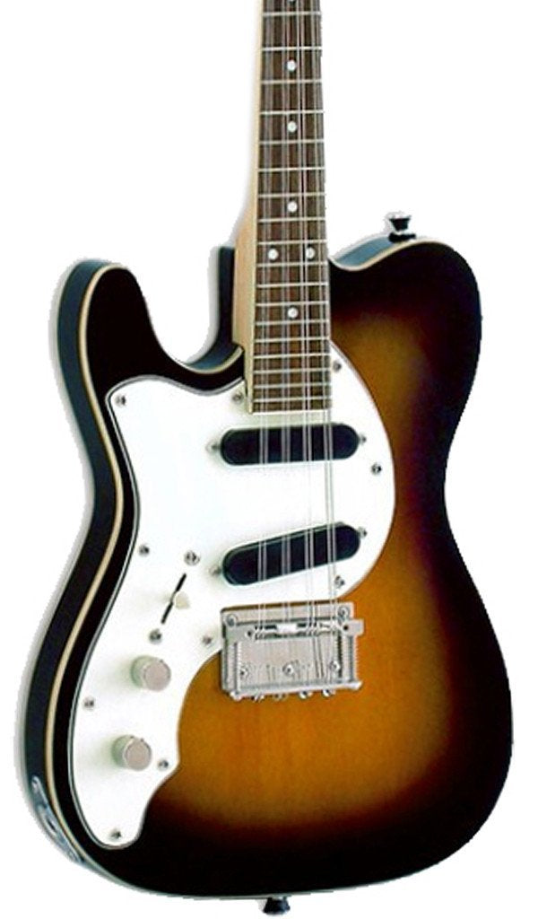 Eastwood Guitars Mandocaster Sunburst LH Featured