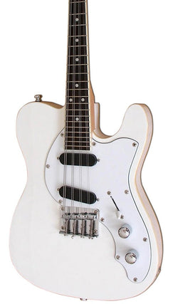 Eastwood Guitars Mandocaster White Featured