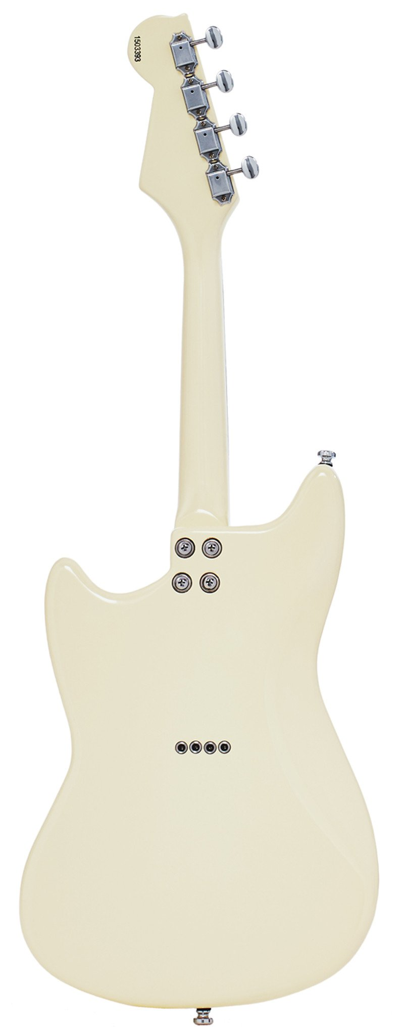 Eastwood Guitars Warren Ellis Mandostang Vintage Cream Full Back