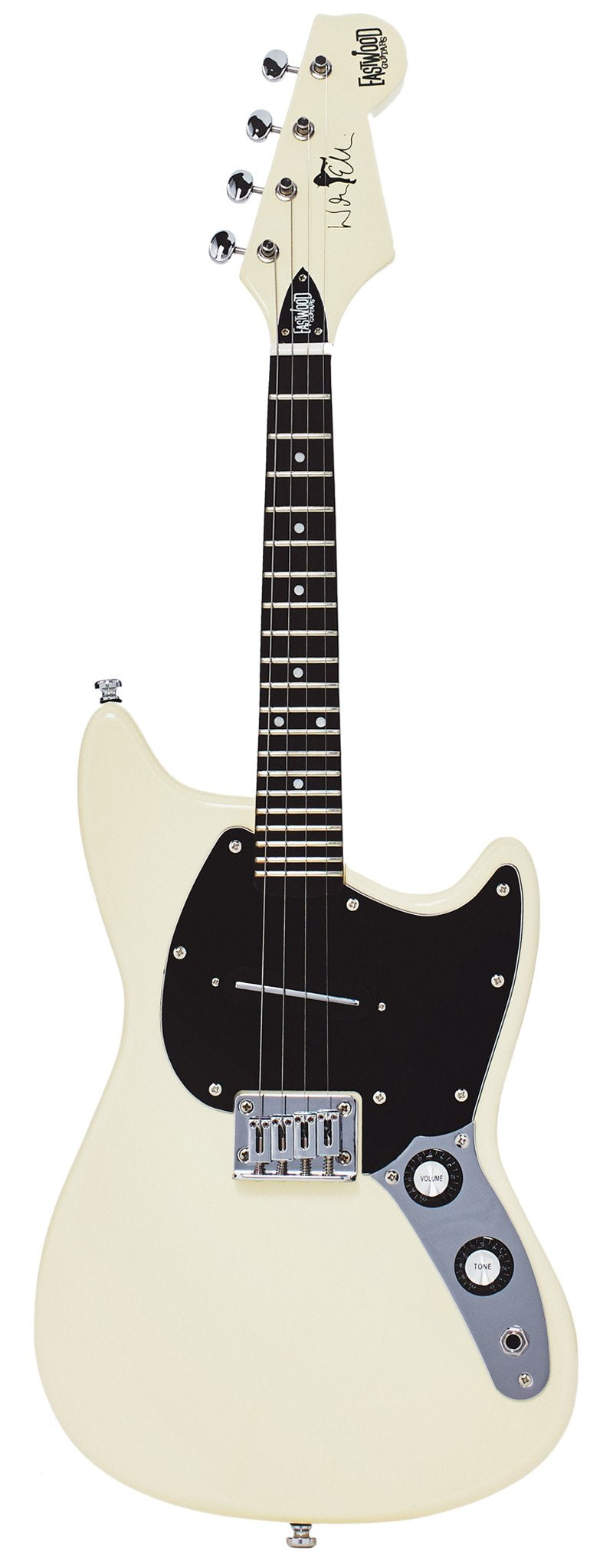 Eastwood Guitars Warren Ellis Mandostang Vintage Cream Full Front
