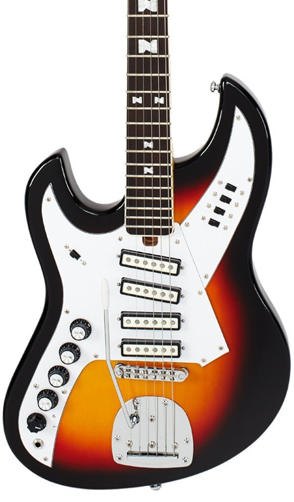 Eastwood Guitars NormaEG5214 LH Sunburst Featured