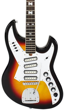 Eastwood Guitars NormaEG5214 Sunburst Featured