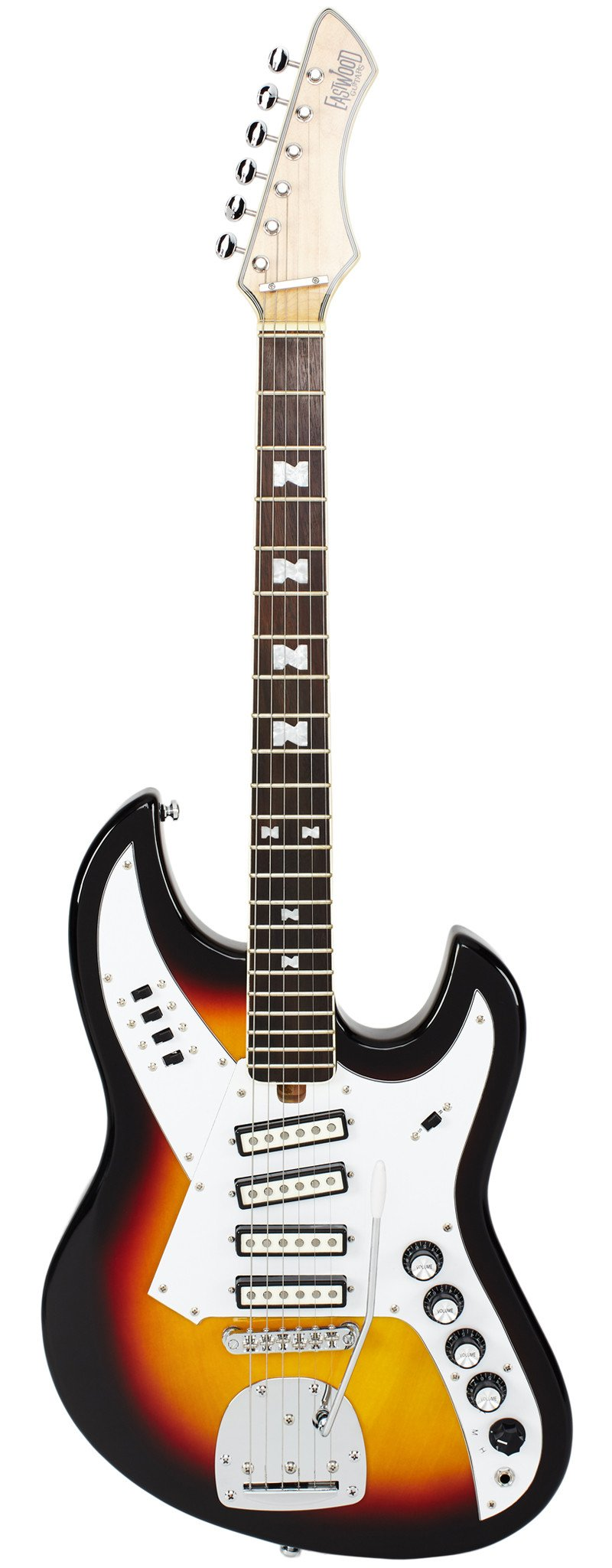 Eastwood Guitars NormaEG5214 Sunburst Full Front