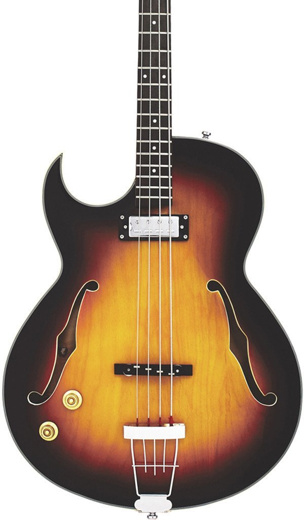 Eastwood Guitars Saturn IV Sunburst LH Featured