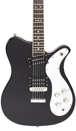 Eastwood Guitars Sidejack 300 Black Featured