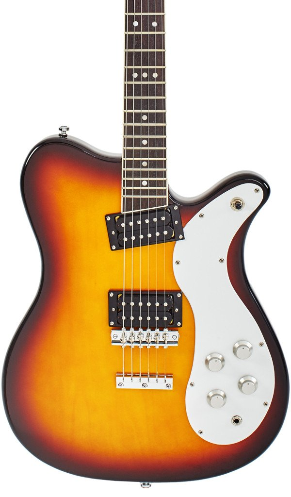 Eastwood Guitars Sidejack 300 Tobacco Burst Featured