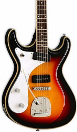 Eastwood Guitars Sidejack DLX Sunburst LH Featured