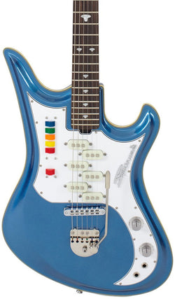Eastwood Guitars Spectrum 5 PRO Metallic Blue Featured
