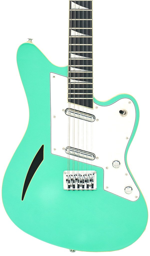 Eastwood Guitars Surfcaster 12 Seafoam Green Featured