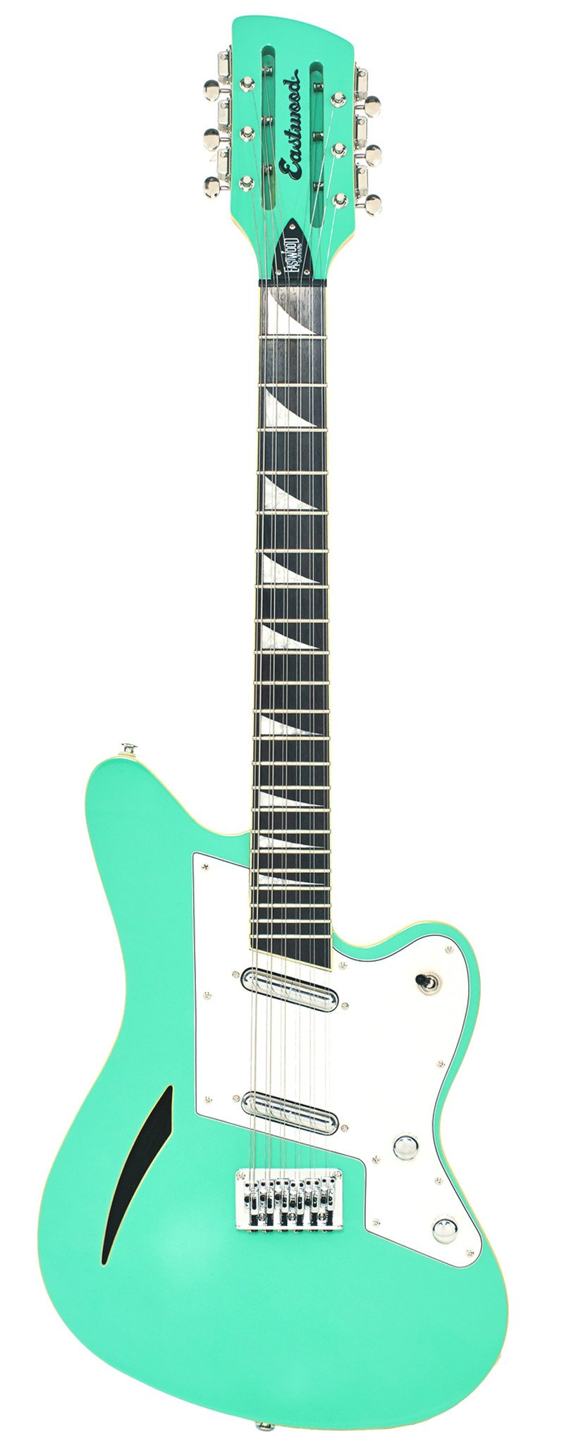 Eastwood Guitars Surfcaster 12 Seafoam Green Full Front