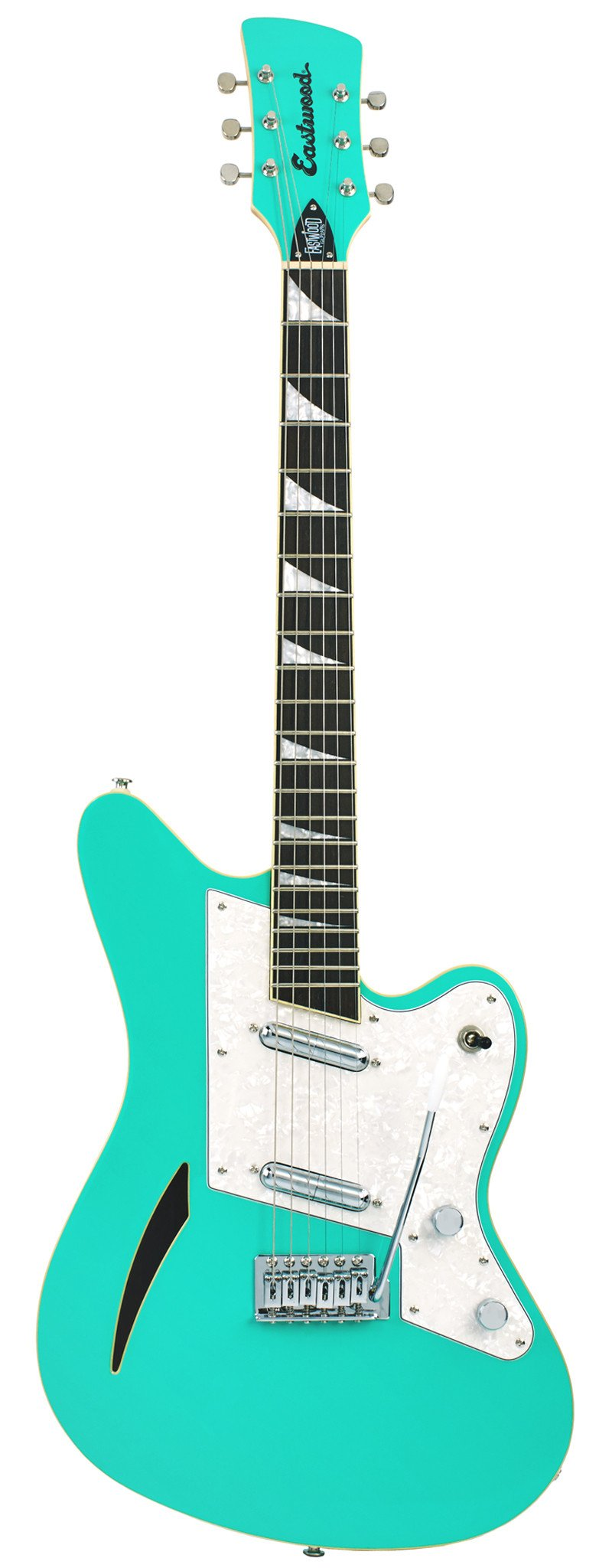 Eastwood Guitars Surfcaster Seafoam Green Full Front