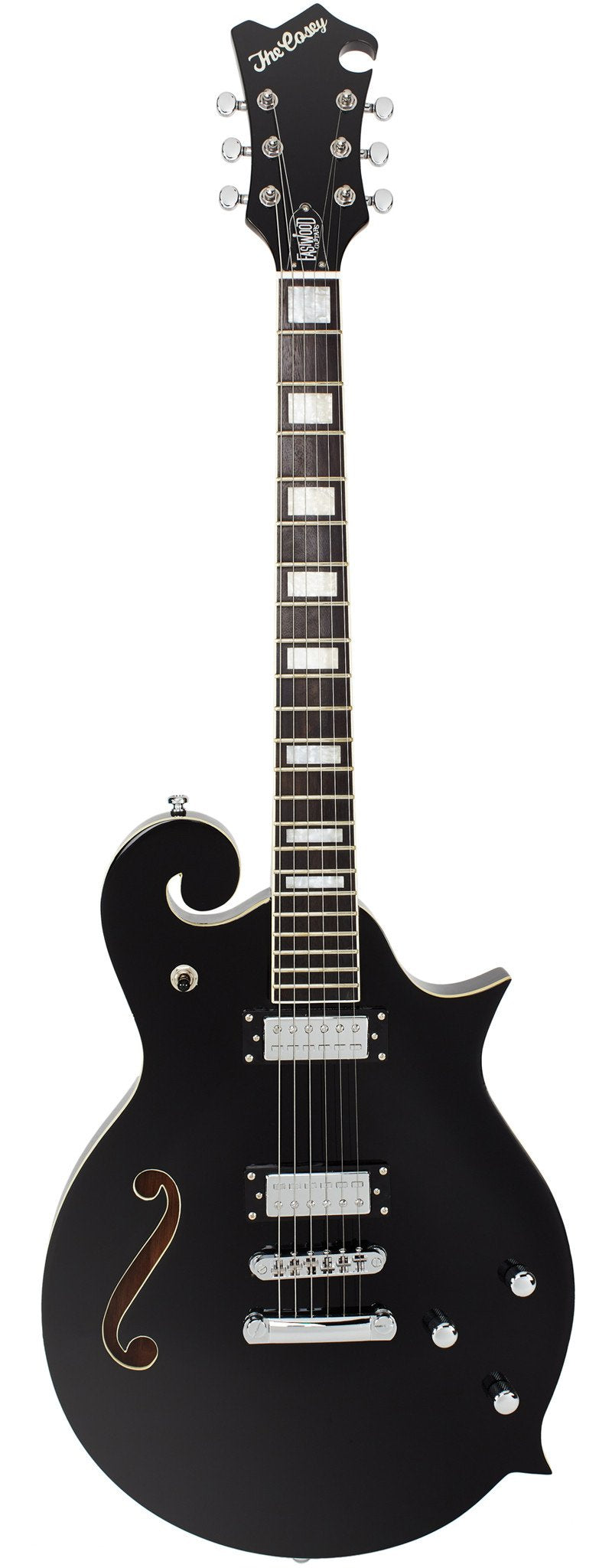 Eastwood Guitars The Cosey Black Full Front
