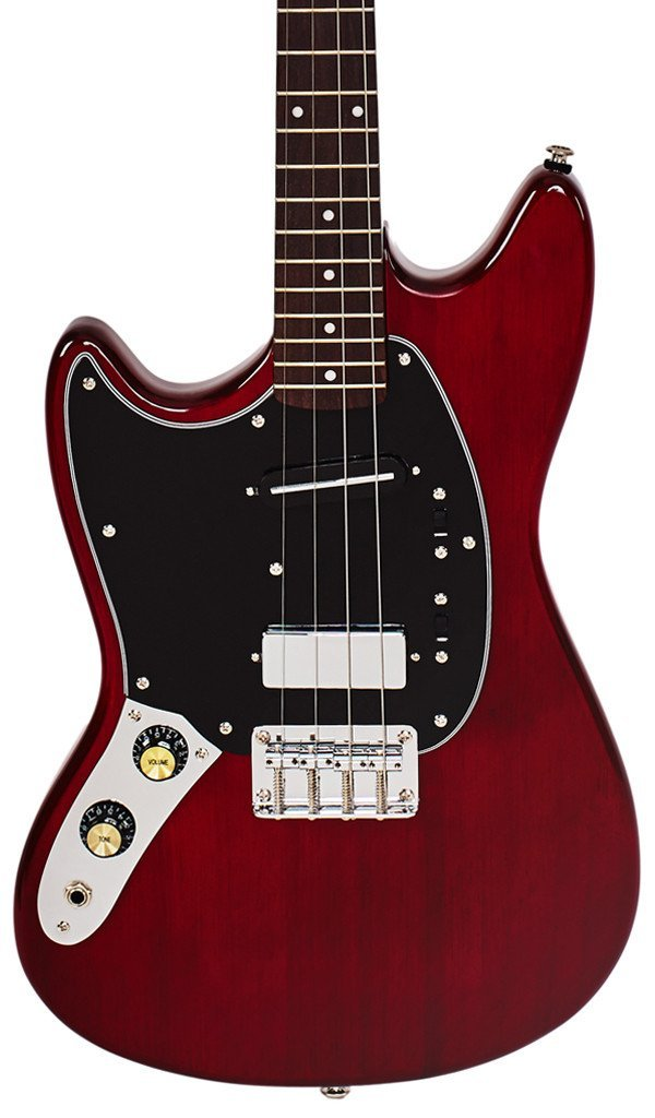 Eastwood Guitars Warren Ellis Tenor 2P Cherry LH Featured