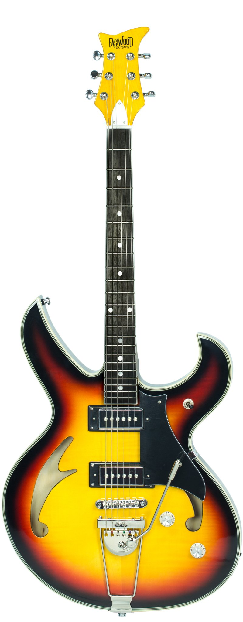 Eastwood Guitars Fire Bird Sunburst Full Front