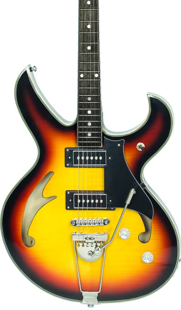 Eastwood Guitars Fire Bird Sunburst Featured