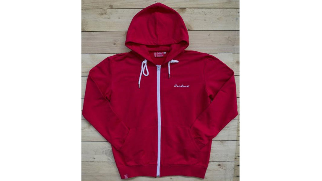 Eastwood Guitars Airline Zip Hoody Red Angled