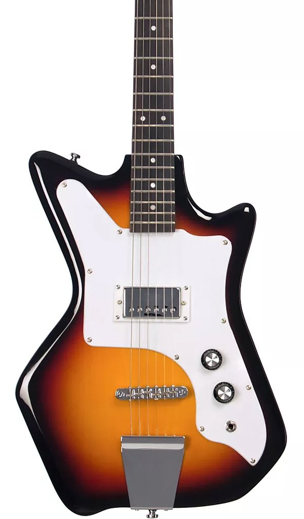 Eastwood Guitars Airline Jetsons JR 65 Redburst Featured