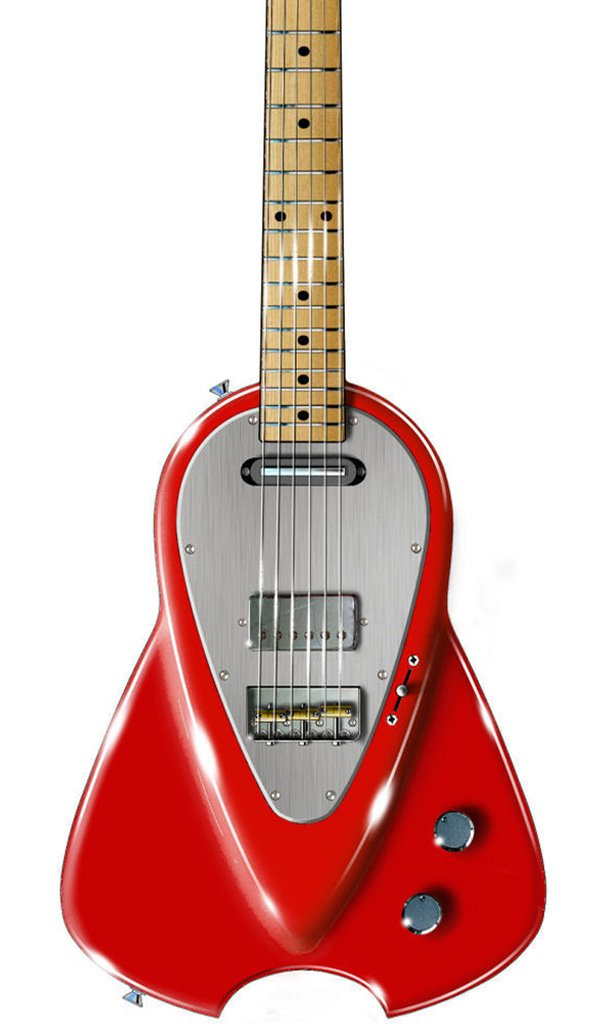 Eastwood Guitars Backlund Marz 6 Metallic Red Featured