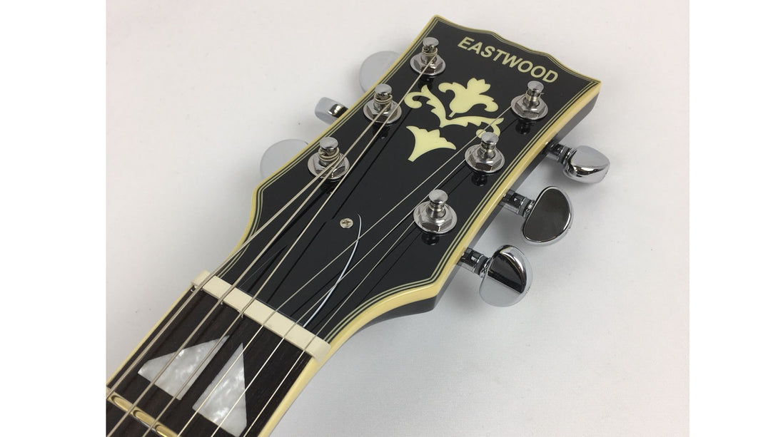 Eastwood Guitars Eastwood McGeoch 1000 Sunburst Headstock