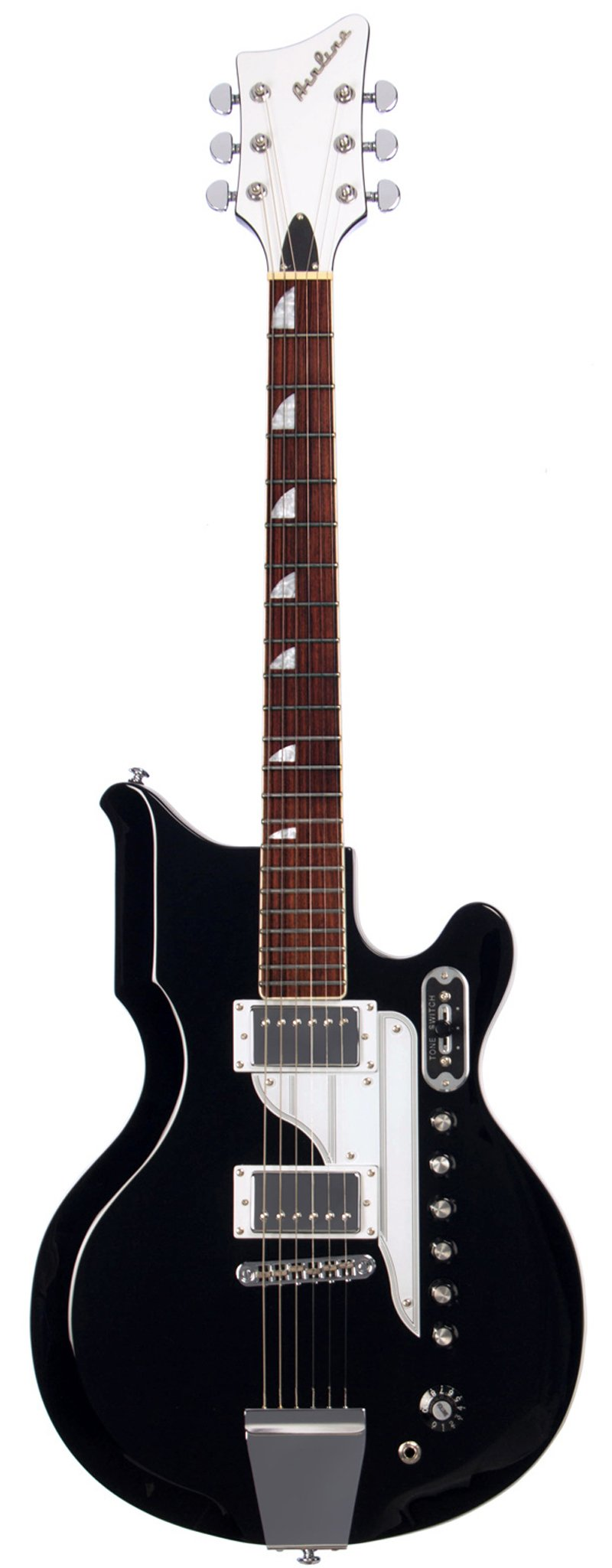 Eastwood Guitars Airline 59 Newport Black Full Front
