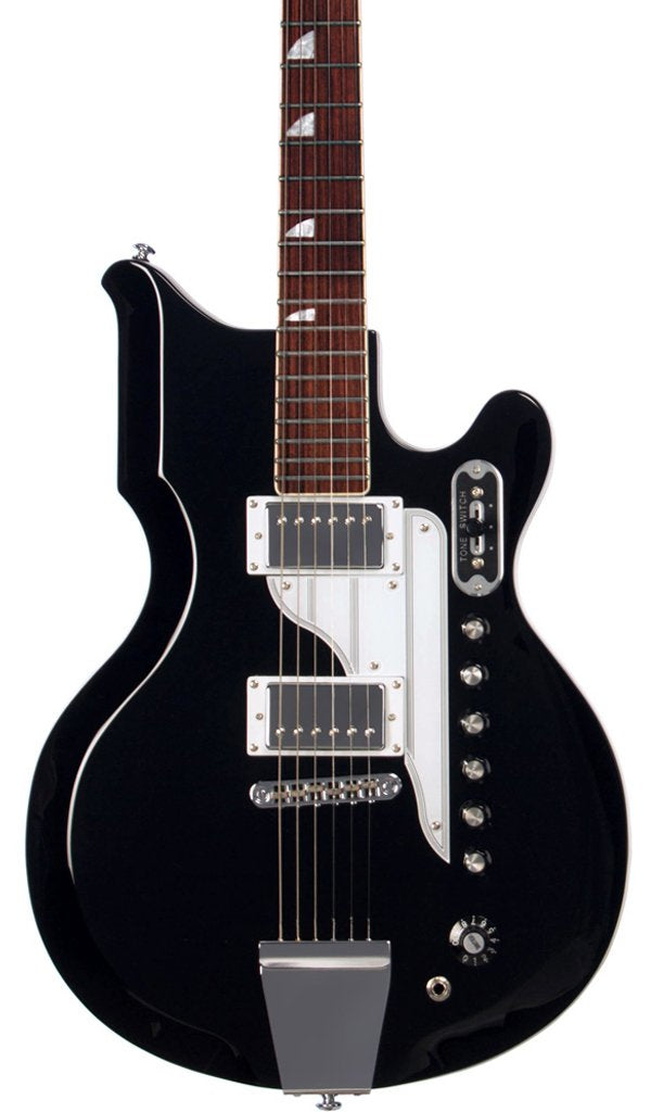 Eastwood Guitars Airline 59 Newport Black Featured
