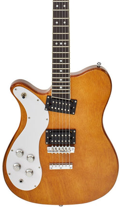 Eastwood Guitars Sidejack 300 Natural LH Featured