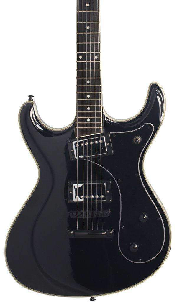Eastwood Guitars Sidejack HB STD Black Featured