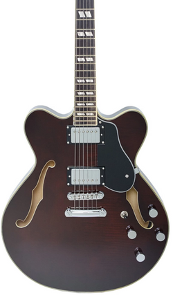 Eastwood Guitars Classic 6 HB Walnut Featured
