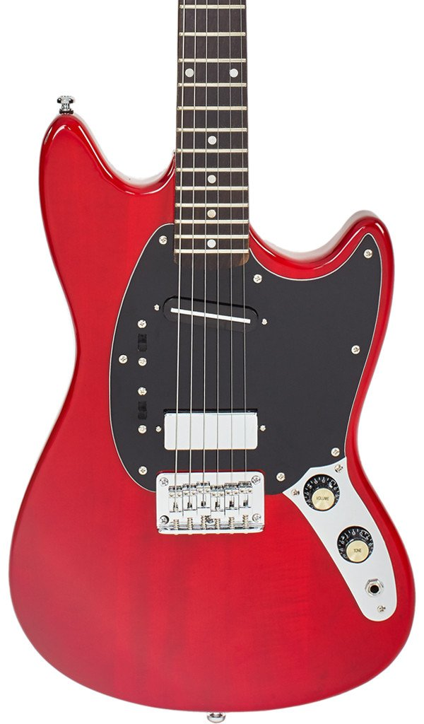 Eastwood Guitars Warren Ellis 6 Dark Cherry Featured