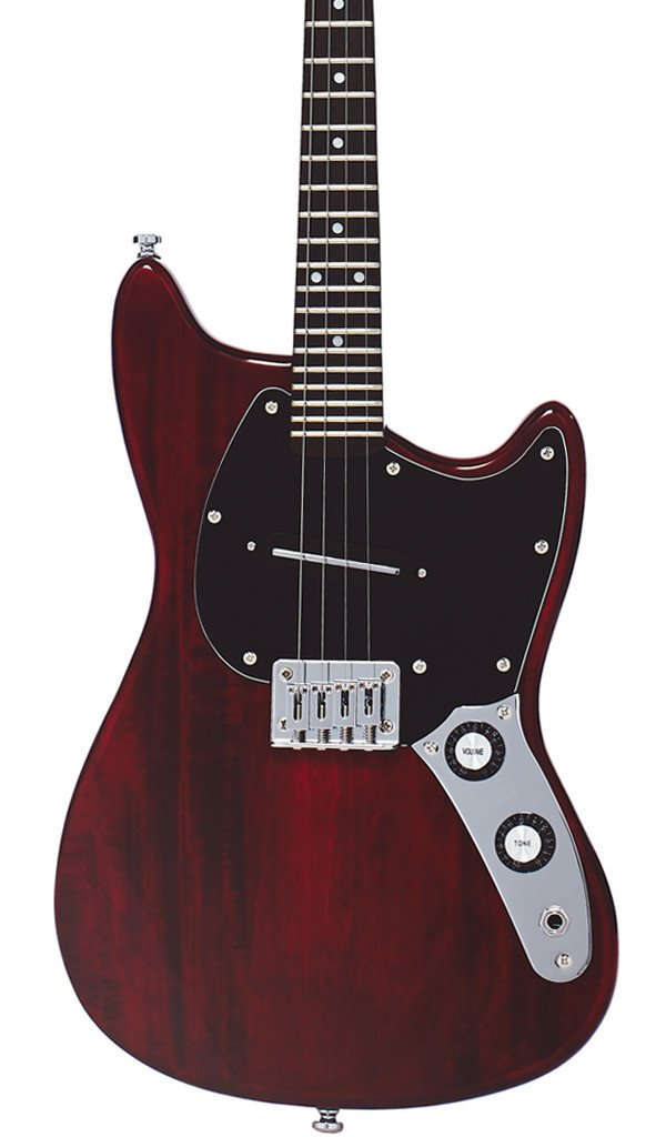 Eastwood Guitars Warren Ellis Mandostang Cherry Featured